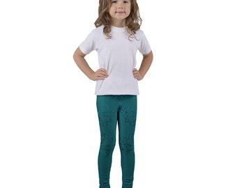 Kid's leggings butterfly design