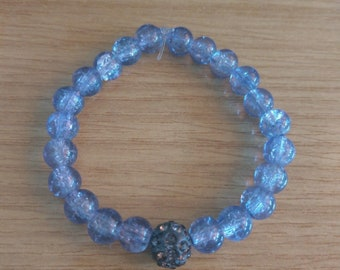 Purple Sparkly Bracelet
