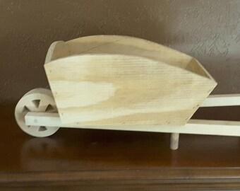 Pine Wheelbarrow