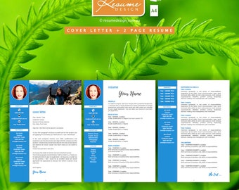 Resume Design Creative Template 2 Professional | Resume Writing | Cover Letter | Resume Design Service | Resume Design Package
