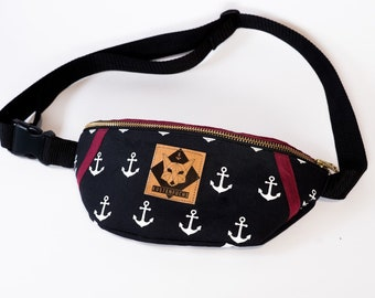 "Coastal Fox Belt Bag ""anchor Fox"""