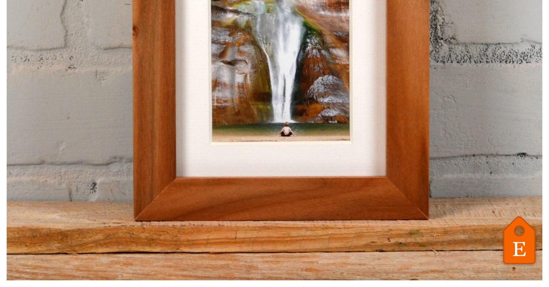4 x 4 Platz Foto Bilderrahmen in 1 x 1 flachen Stil auf Weide