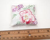 RESERVED - 20 Dried Lavender Sachets - Embroidered Sachets - Vintage Linens - Embroidery