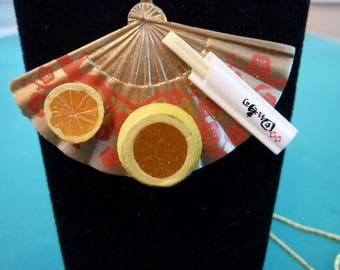 Japanese Mini Food Pendent Necklace