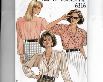 New Look Misses' Blouses Pattern 6316