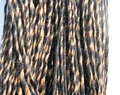 Alpaca Yarn, Very Bulky, Michgan Grown Marled Yarn - 150 yards