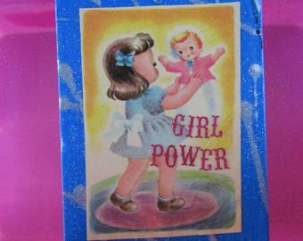 Girl Power {Original Collage}