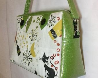 20% off Atomic Cat and Glitter Vinyl Handbag