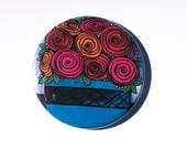 Rose Flower Pocket Mirror...
