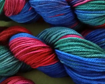 Deluxe Worsted Super wash - Rhiannon