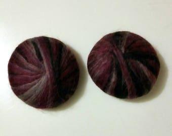 Hand Felted Handmade Hemp Oil Soap Jasmine scent 1.8 oz
