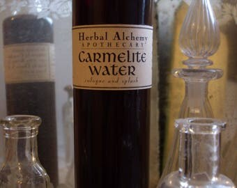 Carmelite Water Cologne, made for a king, men's cologne, aftershave, men's fragrance, handmade