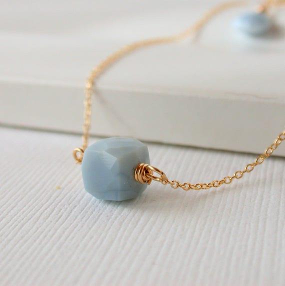 Blue Opal Solitaire