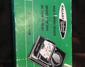 Vintage Kalart Custom Splicer  Free Shipping