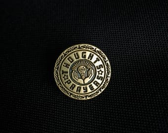 Thoughts and Prayers - Enamel Lapel Pin