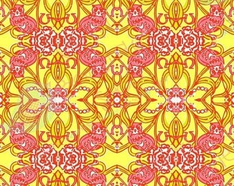 "Chi Omega Sorority Lilly Inspired HTV, pattern vinyl, sheet size 12""x12"" , Lily P adhesive printed patterned craft vinyl LP-177ss"