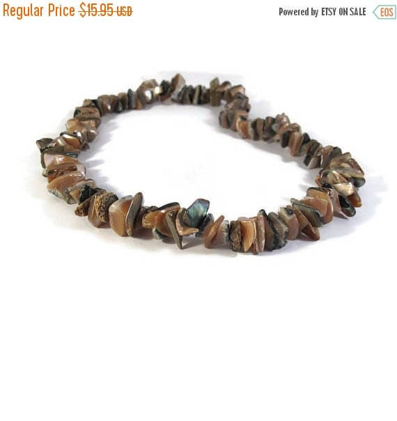 Memorial Day SALE - Abalone Beads, Natural Gemstones, One Strand of Gemstone Chips for Making Jewelry, 120 Beads (S-Ab1)