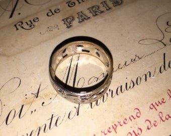 Vintage Silver Personalized Jeanne Ring