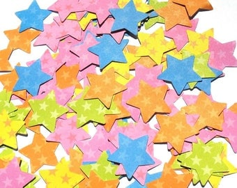 Rainbow Stars - Forever in Time Star Die Cuts
