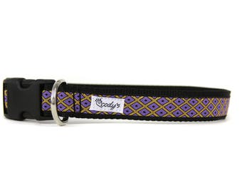 1 Inch Wide Dog Collar with Adjustable Buckle or Martingale in Chorley Jr