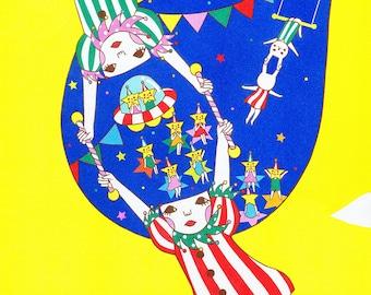13×19 Art Print -Life is a circus!!!-