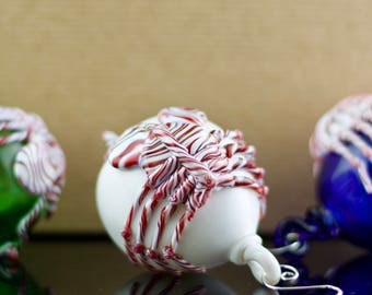 Facehugger Glass Globe Ornament in Your Choice of Color