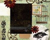Life Is Good - 12x12 Premade Scrapbook Page