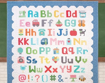 SALE! Spelling Bee Book by Lori Holt of Bee In My Bonnet for Its Sew Emma Publishing Alphabet Quilting Book