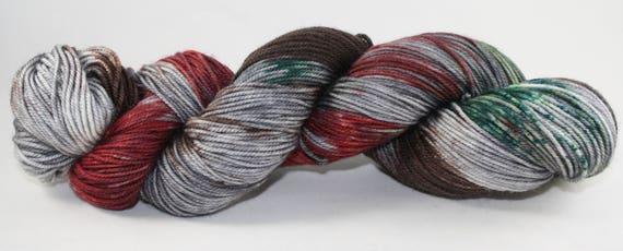Ready to Ship - Krampus Hand Dyed Sock Yarn - Sport Sock