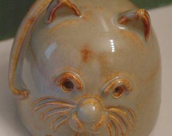 SHINO MAN CAT- Whimsical Clay Kitty