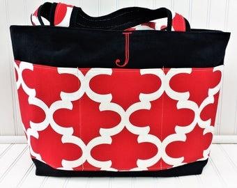 Teacher Bag -Teacher Gift -Tote Bag Canvas-Personalized Gfit - Teacher Tote-Teacher Bags - Tote Bag-Tote Bag with Pockets - Personalized Bag