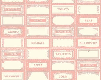 20EXTRA 30% OFF Farm Girl Canning Labels Pink