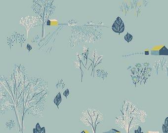 Scenic Blue Sky Fabric