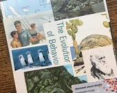 Let's Travel to the Galapagos Islands Vintage Charles Darwin Evolution Collage, Scrapbook and Planner Kit Number 2569