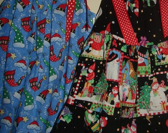 Clearance SALE Christmas Pillowcase Dress 18/24m 2T