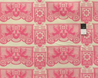 Anna Maria Horner FAAH016 Pretty Potent Banner Days Icing Flannel Fabric By Yd