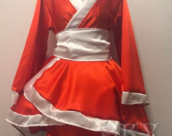 Blood Moon Akali Kimono Dress