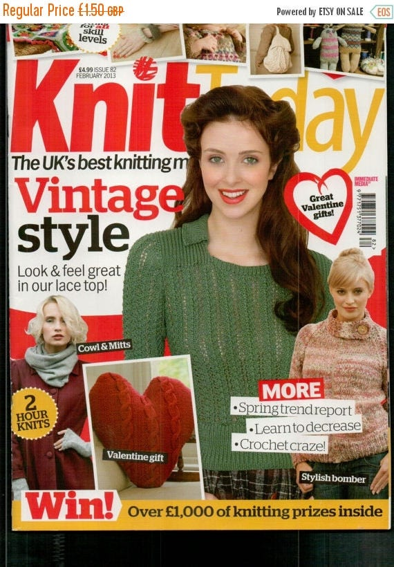 Christmas In July Knit Today Knitting Magazine Issue 82 February 2013