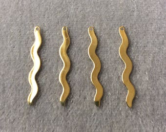 Vintage Gold Plated Dangle Jewelry Finding