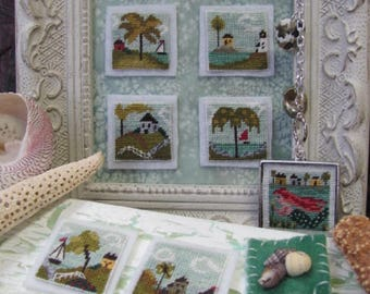 Stitch An Inch Summer Pack 1 Counted Cross Stitch Chart