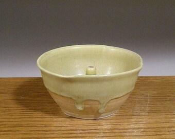 Clearance SALE , Handmade , Stoneware Pottery , Apple Baker , Ring Holder , Caramel Apple Cooker , by Jon Whitney Pottery