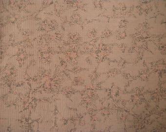 Vintage haori S816, desert sand brown. silk