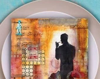 Sale! Flavor for Mixed Media - A feast of Techniques for Texture, Color and Layers by Mary Beth Shaw