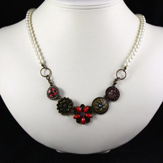 Vintage Eclectic Necklace