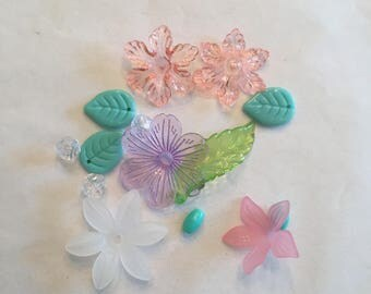 Fairy Flower Beads, DIY, Party favor, Fairy