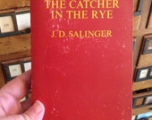 The Catcher In The Rye by J. D. Salinger vintage paperback, Bantam Books, Classic Book, Holden Caulfield, Book Collector