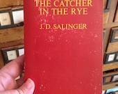 Le Catcher In The Rye par Salinger vintage broché, Bantam Books, livre classique, Holden Caulfield, collectionneur de livres