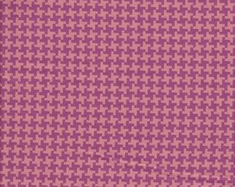 Free Spirit Fabrics Joel Dewberry Avalon Houndstooth in Orange - Half Yard