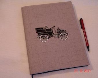 Vintage Car Composition Notebook Cover