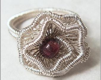 Sale, 15% Off - Crinkled Rosette Ring Tutorial